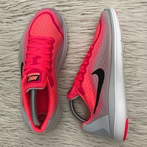 New Nike Flex Pink Running Shoes